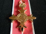 ORDER BRITISH EMPIRE MEDAL O.B.E MILITARY FULL SIZE REPLACEMENT COPY